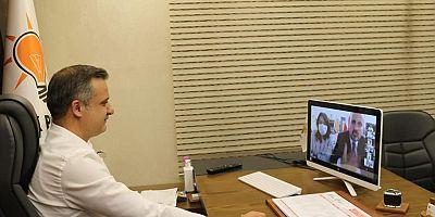 AK Parti'den Video Konferans Yöntemiyle Bayramlaşma