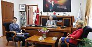 Akçay'dan Özacar'a Ziyaret
