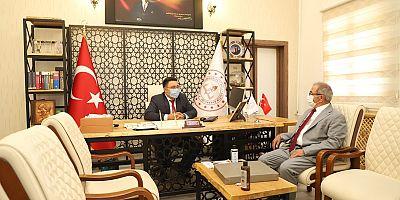 Başkan Özacar'dan Karaca'ya Ziyaret