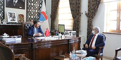 Başkan Özacar'dan Ziyaretler