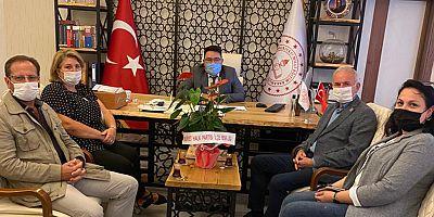 CHP'den Milli Eğitime Ziyaret