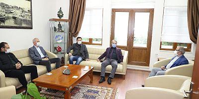 Göğüsgeren'den Başkan Özacar'a Ziyaret