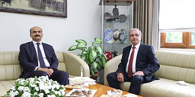 Kaymakam Abacı'dan Başkan Özacar'a İade-i Ziyaret