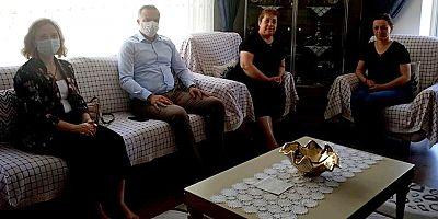 Sürücü'den Taşçı Ailesine Taziye Ziyareti