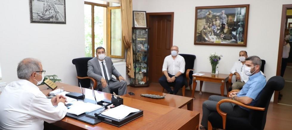 Tarım Kredi Kooperatifi Bölge Müdüründen Başkan Özacar'a Ziyaret
