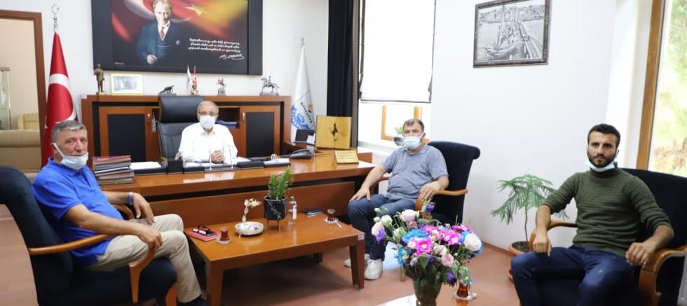 TPAO Yetkililerinden Başkan Özacar'a Ziyaret