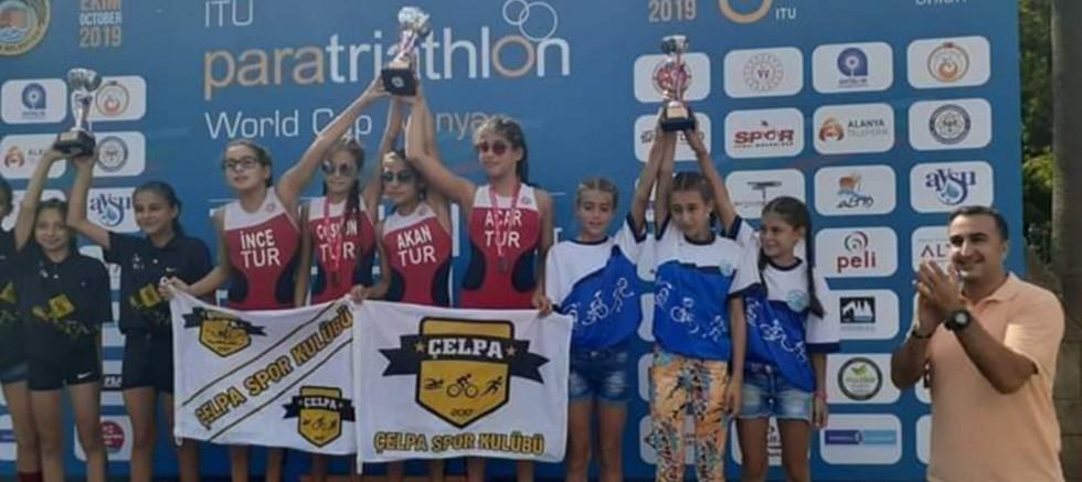 Triatlon Spor Kulübünden Türkiye Üçüncülüğü
