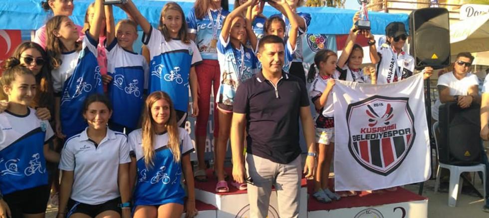 Triatlon Takımlarımızdan Türkiye Şampiyonluğu