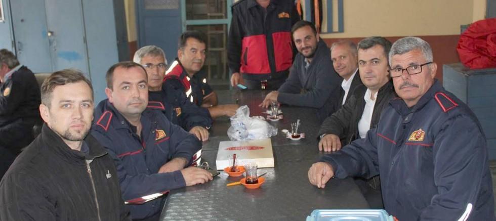 Tüm Bel-Sen'den Gelibolu İtfaiyecilerine Ziyaret