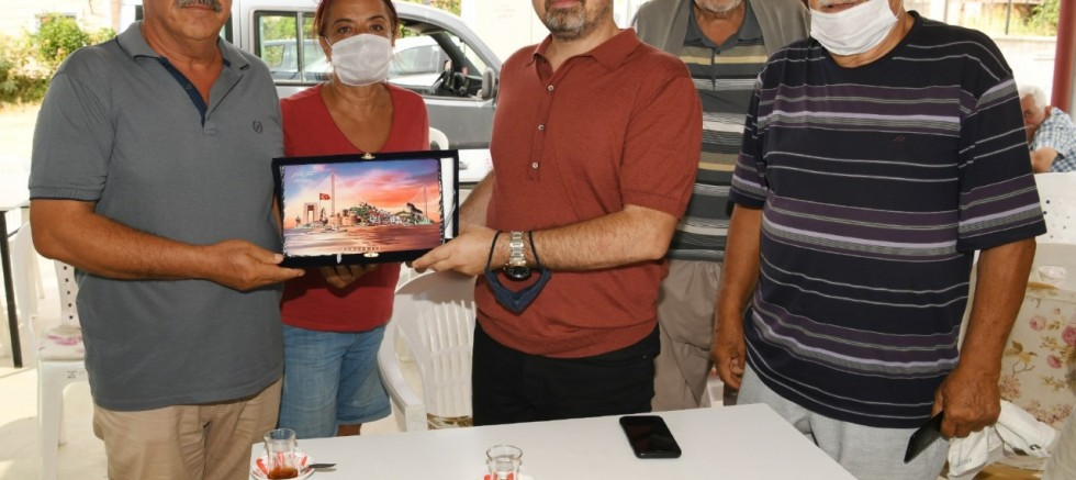 Turan, Emek Tatil Köyü'nü Ziyaret Etti