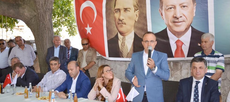 Turan, Haluk Koç'a  Gelibolu'dan cevap verdi