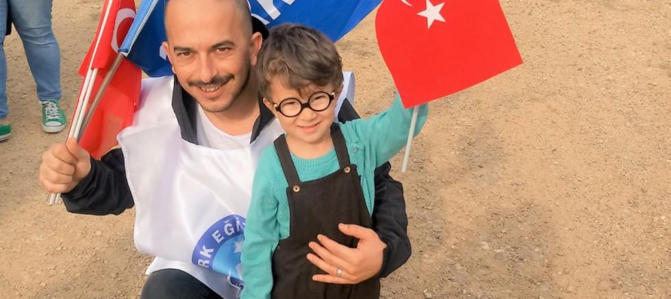 Türk Eğitim-Sen İlçe Başkanı Dündar'ın 23 Nisan Mesajı