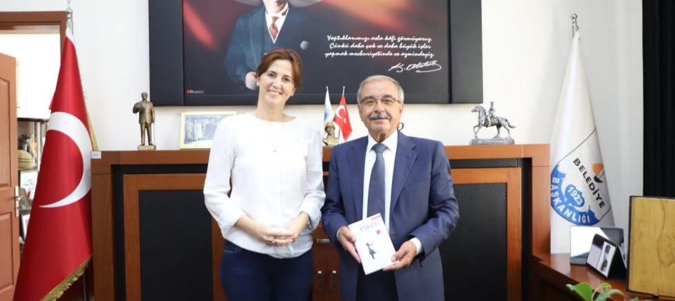 Türk'ten Başkan Özacar'a Ziyaret