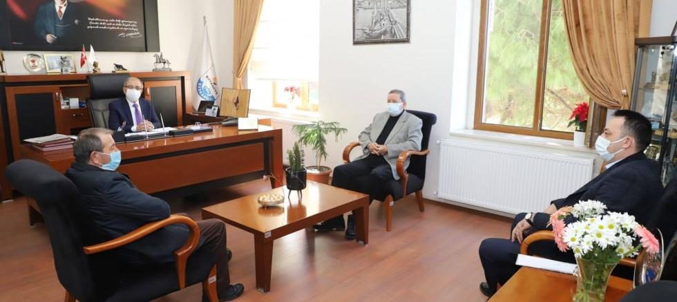 Yağlı Tohumlar Kooperatifi'nden Başkan Özacar'a Ziyaret