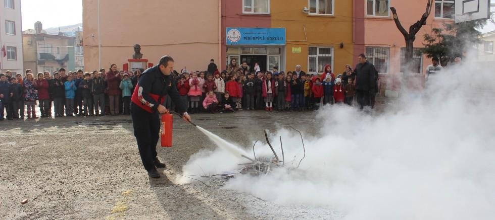 Yangın Tatbikatı Düzenlendi
