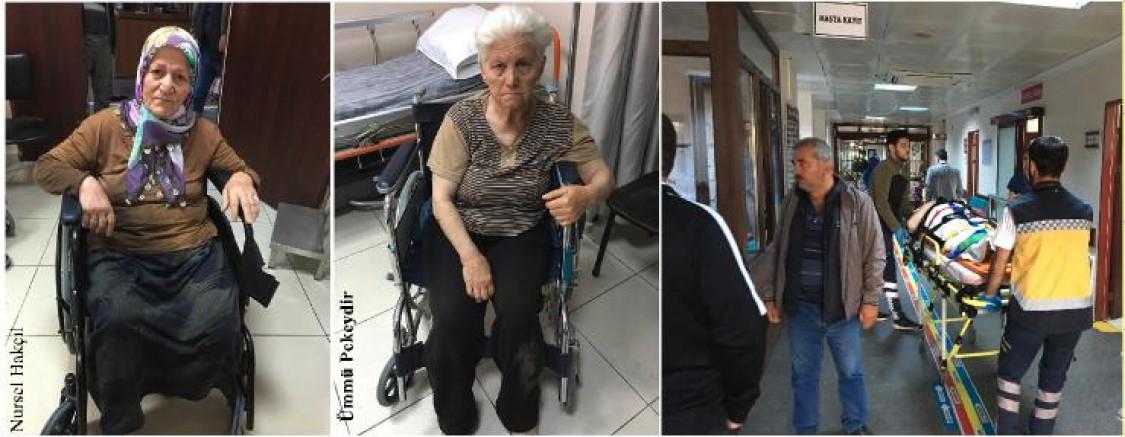 YARALAMALI TRAFİK KAZASI