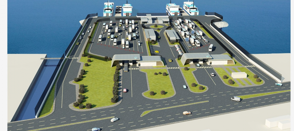 Yeni Feribot Terminali'nde Deniz Taş Dolgusuna Başlanıyor